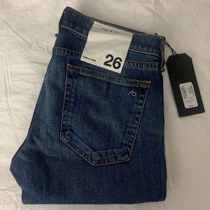 Rag & bone ankle dre jeans size 26